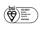 As a BSI Member we have achieved ISO9001 for over 10 years.