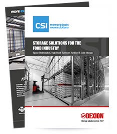 Storage for the food industy