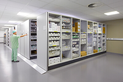 heathcare storage