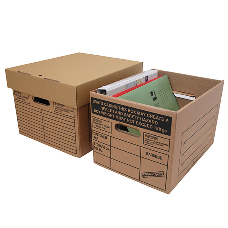 Archive Storage Boxes - Pack of 10