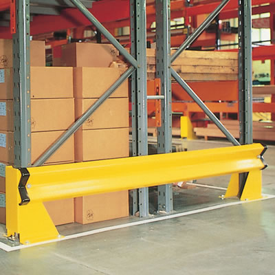 Dexion E Rail Barrier Kits