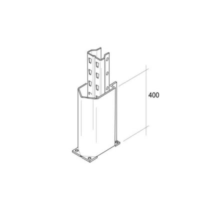 Dexion Column Guard (P90 90mm and 100mm)